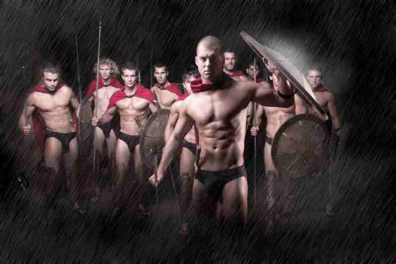 Spartan Male Strip Show Theme